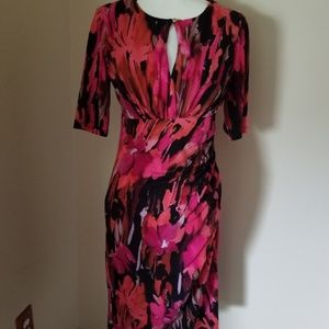 Maggy L Size 10 Dress Peekaboo Neckline
